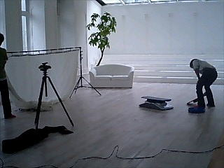 モデル撮影