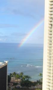 また虹だぁ〜♪