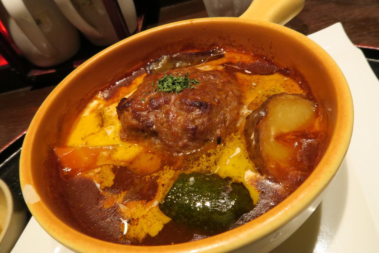 一日限定30食 だるま煮込みハンバーグ定食@札幌 大通 居酒屋 ...
