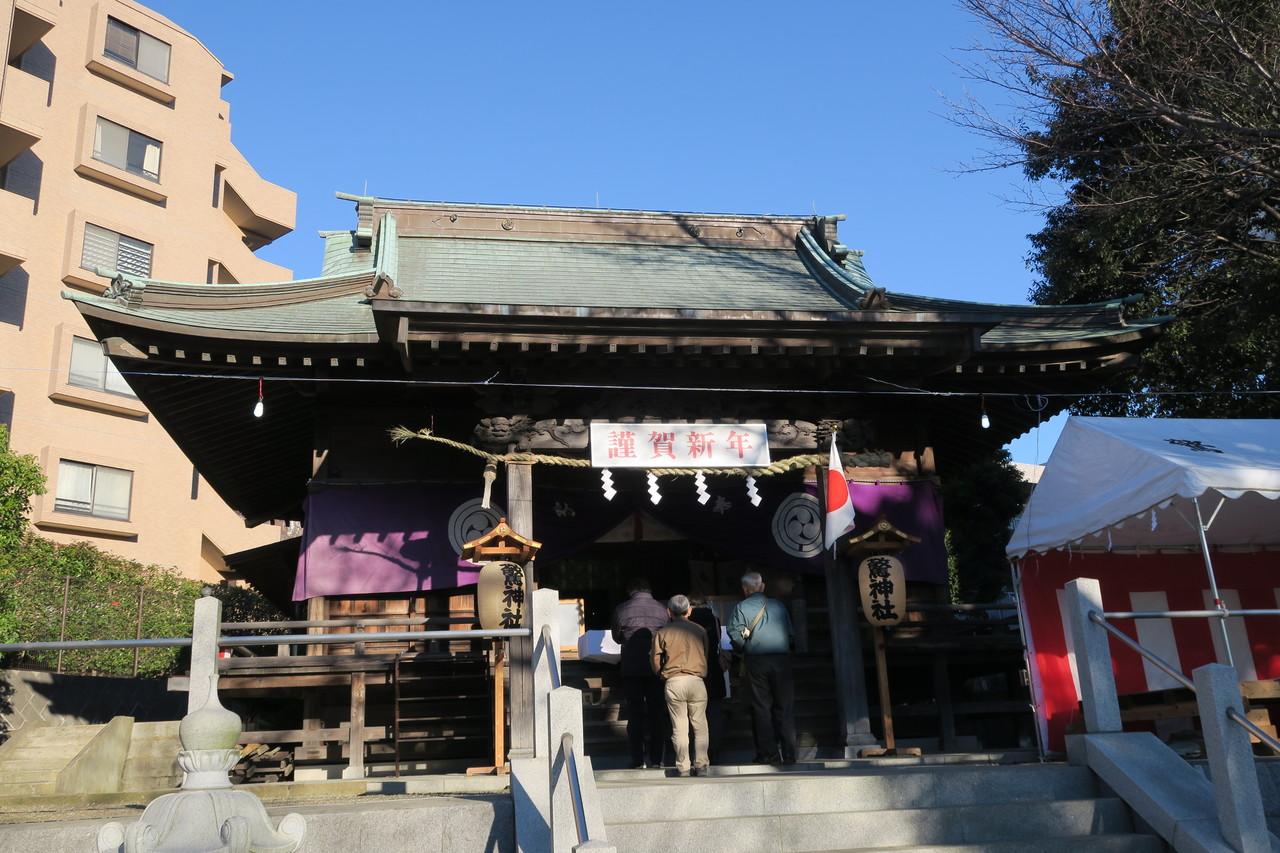 あざみ野 神社