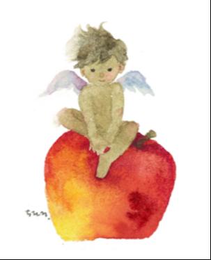 りんごと天使