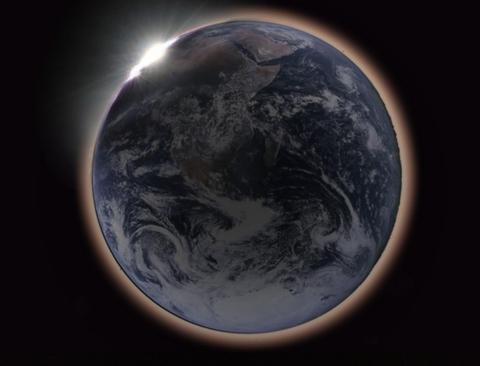 月食NASA