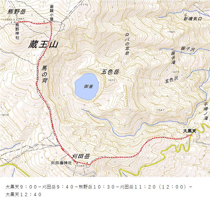 刈田岳2019