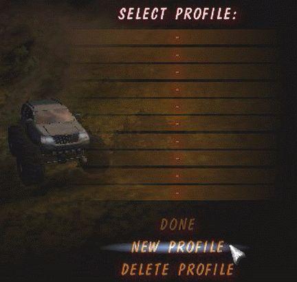Big Truck4×4(Enter Profile1)