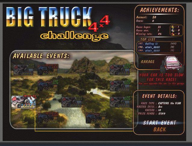 Big Truck4×4(Pre Start3)