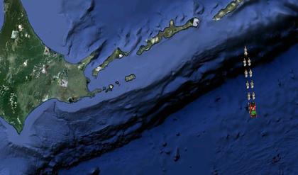 千島列島のサンタ
