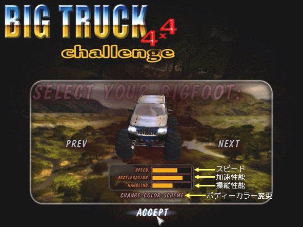 Big Truck4×4(Pre Start2)