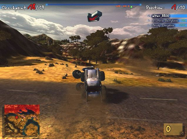Big Truck4×4(Sprint Race Process7)