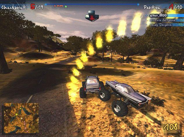 Big Truck4×4(Sprint Race Process3)