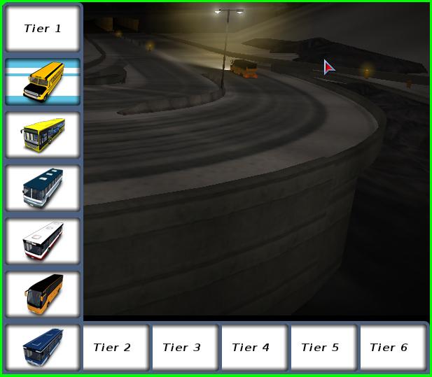 BUSドライバー(ステージ選択)