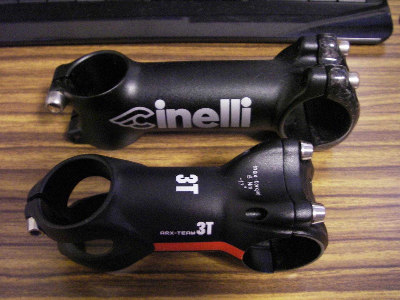 自転車の 自転車 ステム 角度 : ... 気をつけろ!:3T ARX Team ステム