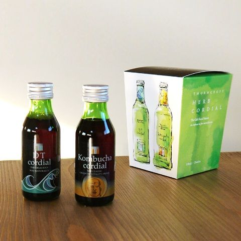 ハーブコーディアル 紅茶キノコ Kombucha コムブッカ 発酵飲料 タルゴジャポン DT ギフトボックス