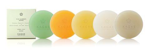 カガエ ハーブ ソープ コレクション 和漢植物エキス配合 枠練り美容ソープセット