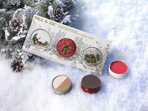 ポール&ジョー アイカラー リップバーム クリスマスコフレ 画像