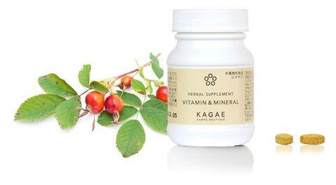 カンポウで美しく、輝けるように カガエ カンポウ ブティック 肝 デトックス ハーブ サプリメント ビタミン アンド ミネラル