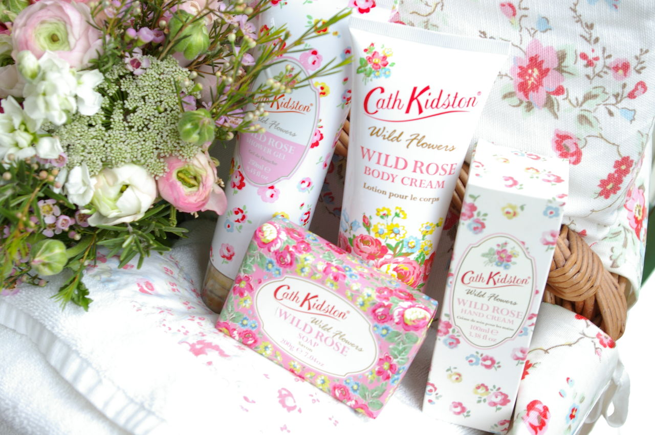 ck wild rose gel body cream soap and hand cream
