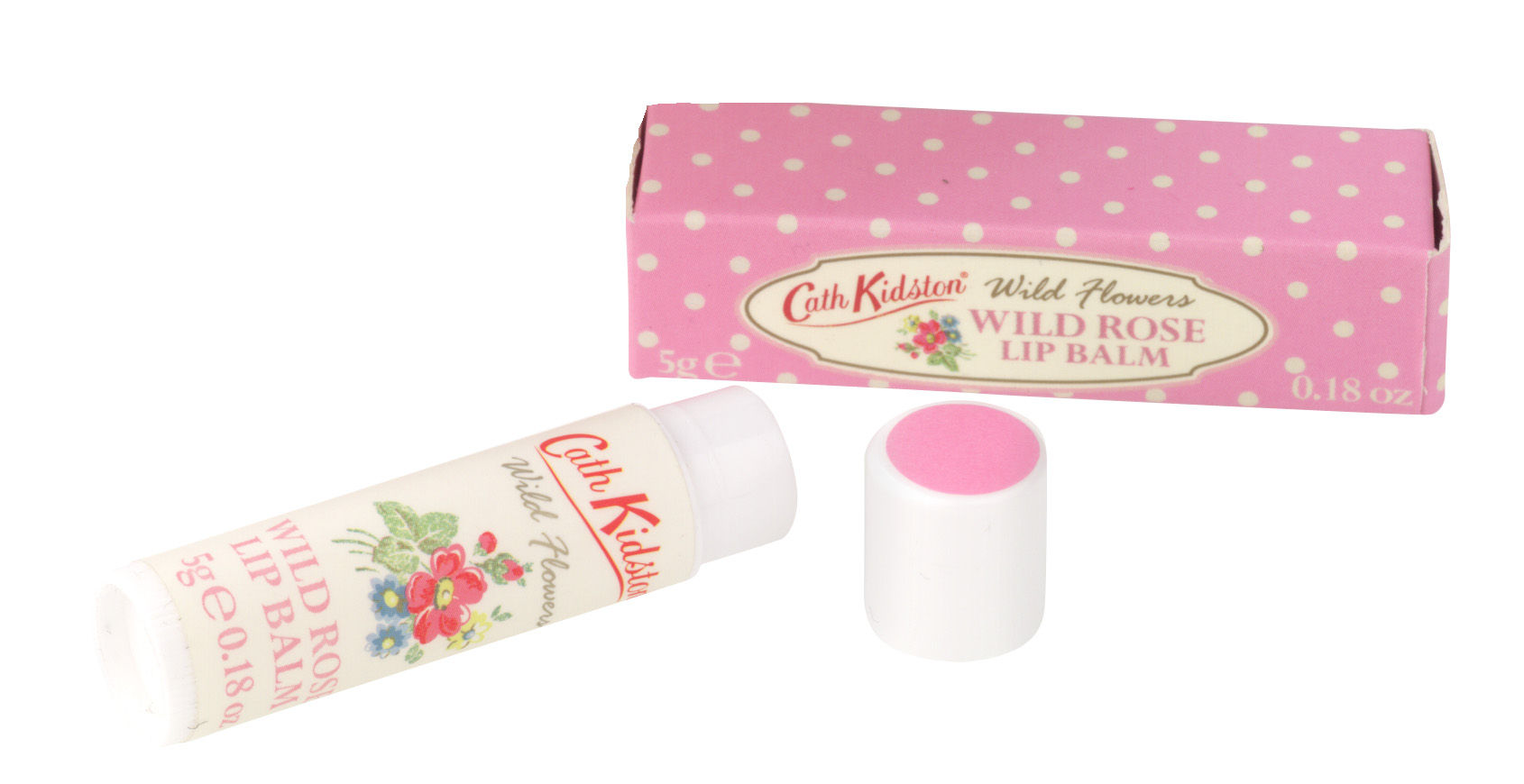 FG6900 CK WILD ROSE LIP BALM 1-SINGLE SHOT