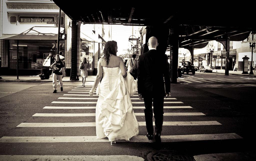 chicago wedding, wabash crossing By m5