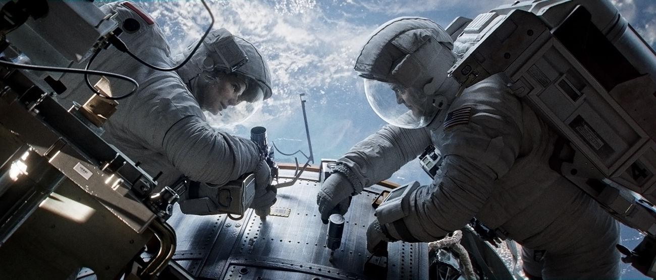 たけうちんぐ アルフォンソ・キュアロン サンドラ・ブロック ジョージ・クルーニー ワーナー・ブラザーズ映画 ゼロ・グラビティ  宇宙 孤独 重力 無重力 3D