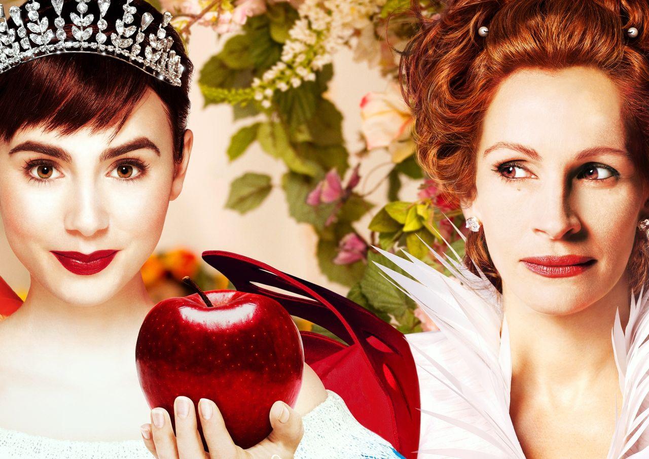 白雪姫と鏡の女王 ターセム・シン ジュリア・ロバーツ リリー・コリンズ アーミー・ハマー ネイサン・レイン メア・ウィニンガム ギャガ Mirror Mirror