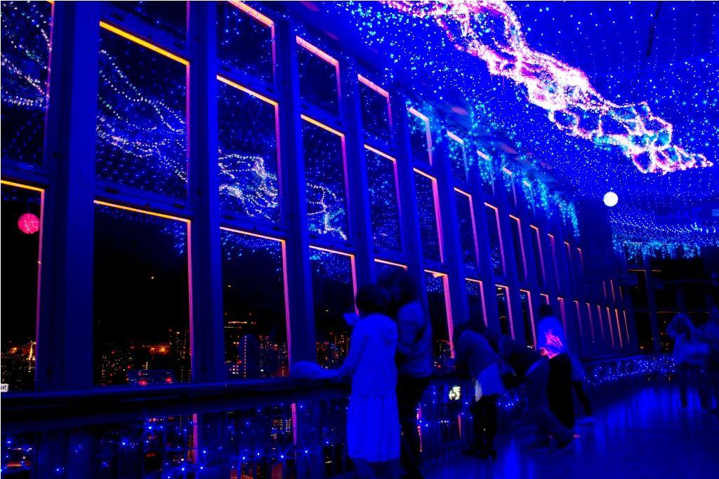 天の川イルミネーション 画像 東京タワー 七夕デート