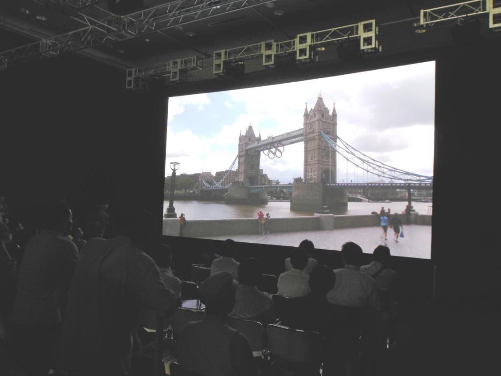 ロンドンオリンピック パブリックビューイング