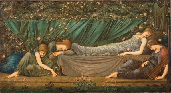 エドワード・バーン=ジョーンズ 眠り姫 画像 レム日比谷 三菱一号館美術館