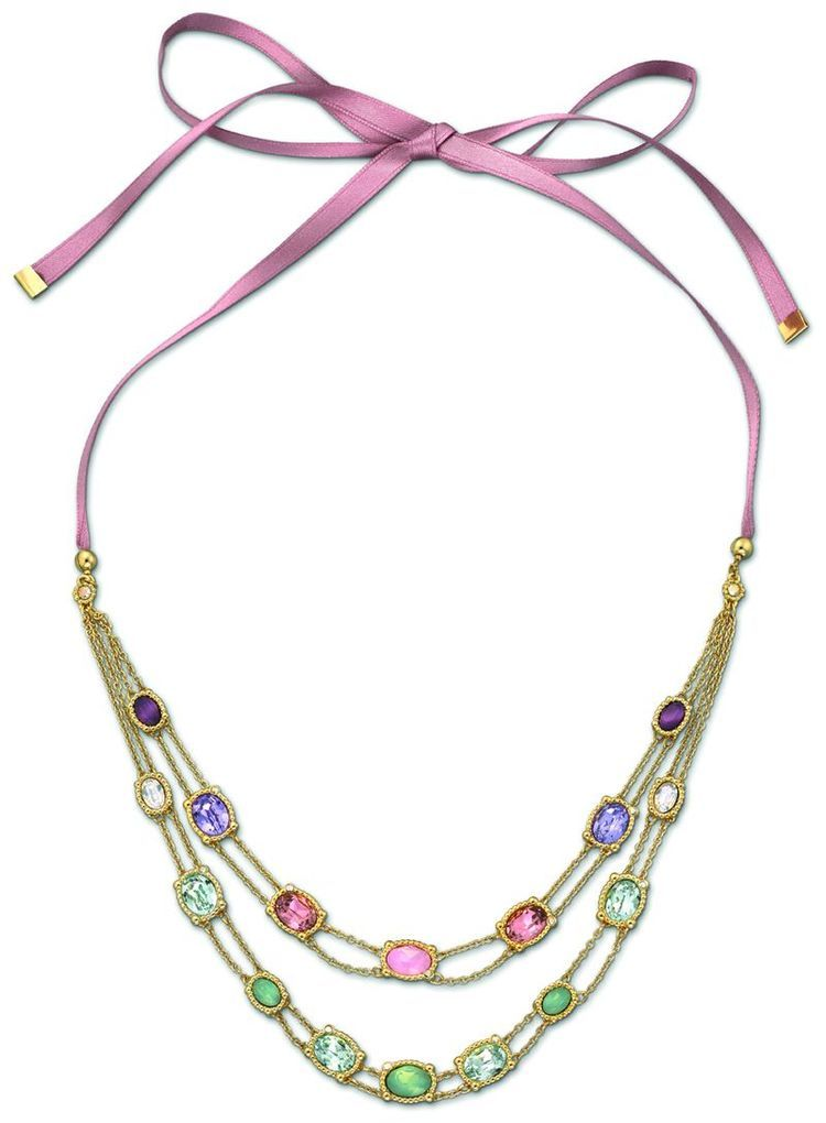 ROSETTE Long necklace