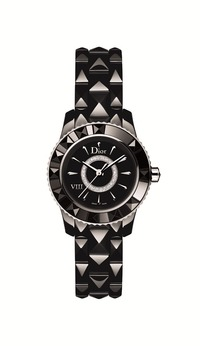 小1_DIOR VIII BLACK QUARTZ DIAMOND-SET DIAL 28mm