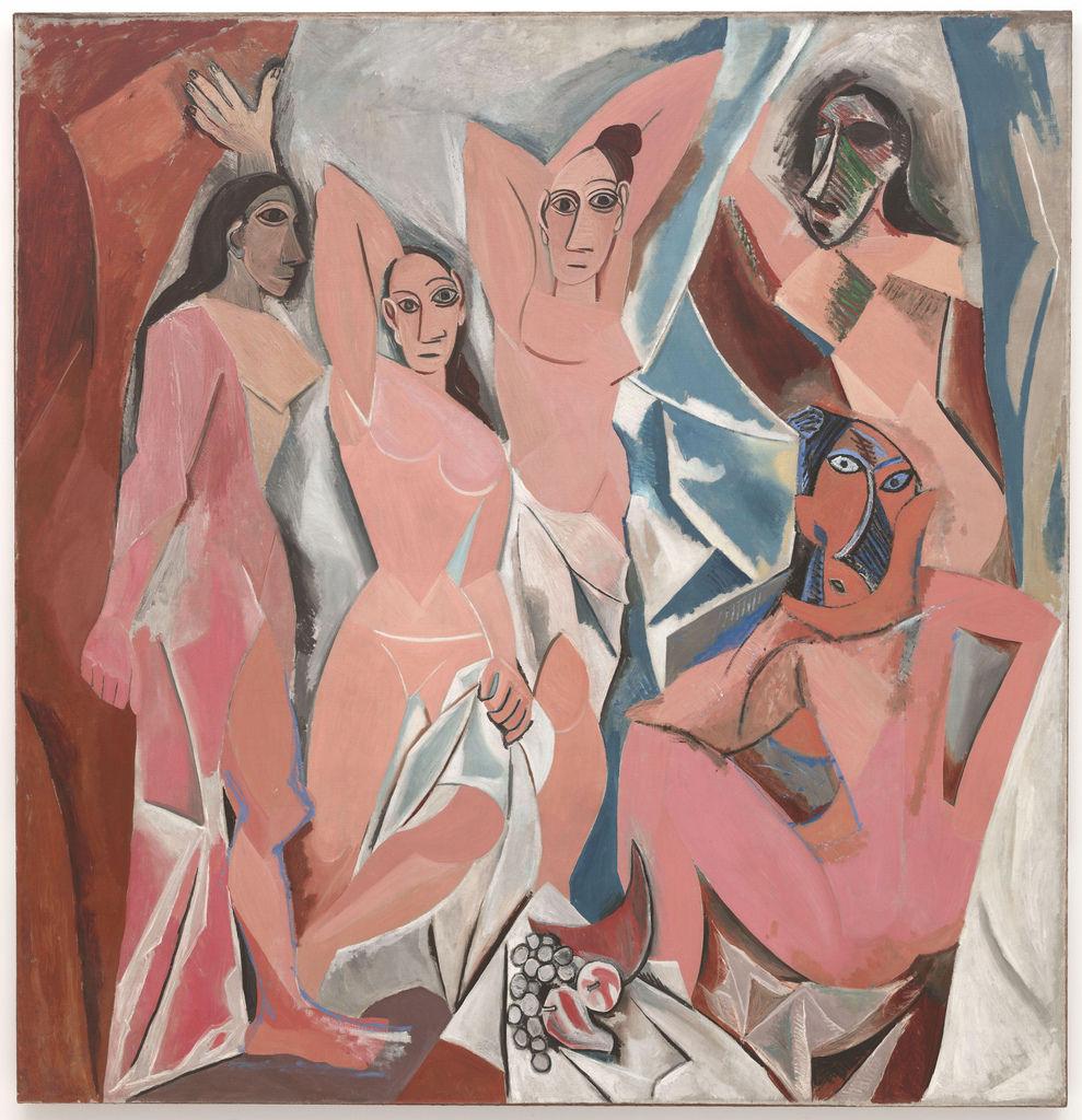 Pablo Picasso - Les Demoiselles d'Avignon (1907)  Cea