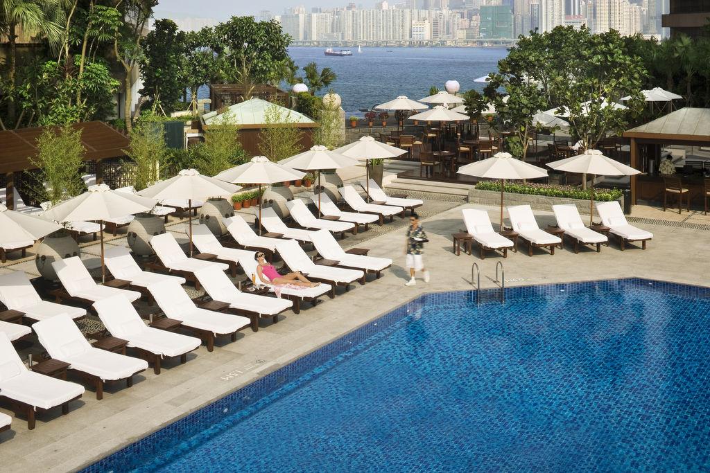 Swimming Pool By InterContinental Hong Kong