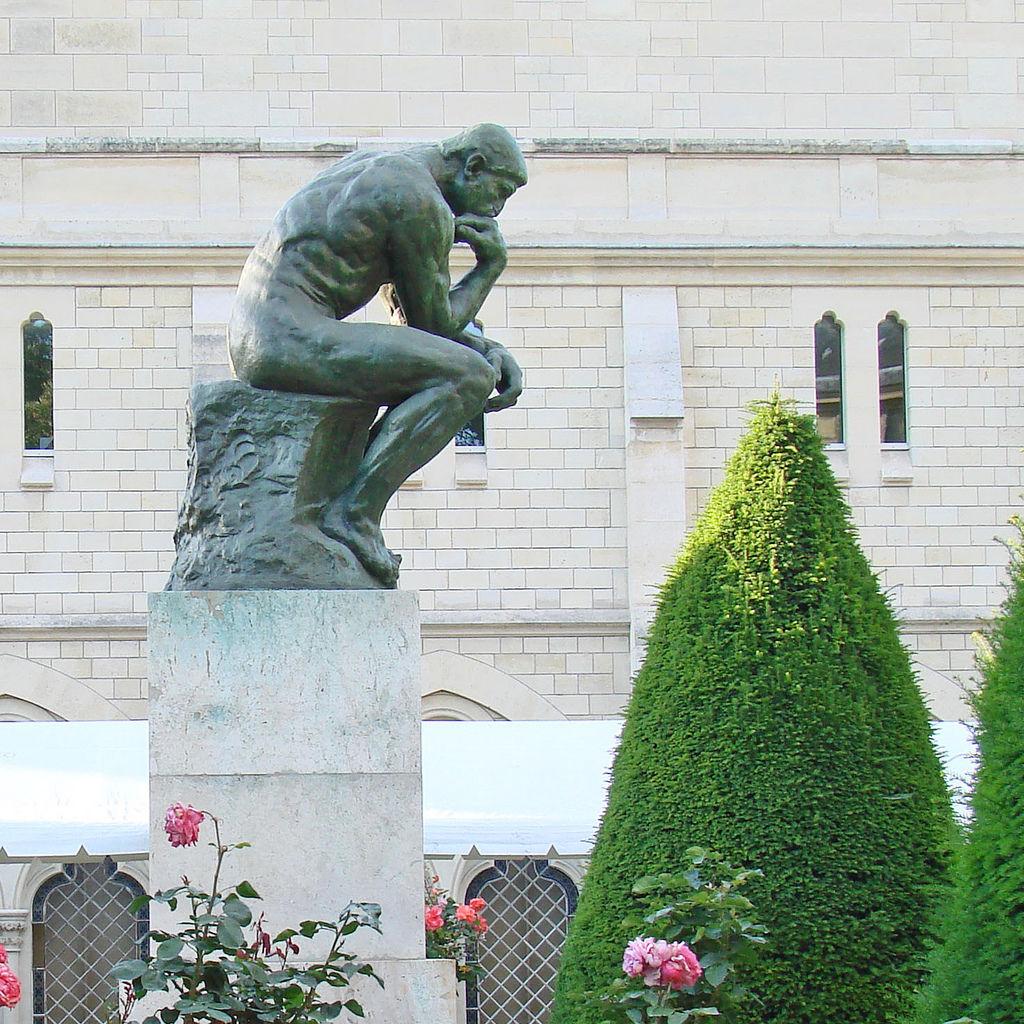 Le Penseur (musée Rodin)  By dalbera