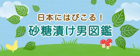 日本にはびこる 砂糖漬け男図鑑