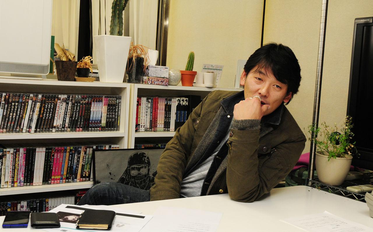 叶井俊太郎 画像 インタビュー 本命女 AM