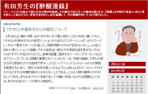 有田ブログ