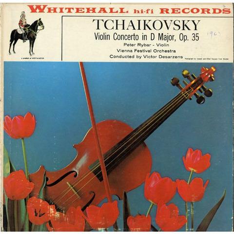 US  WH  WH20004 ペーター・リバール チャイコフスキー・ヴァイオリン協奏曲