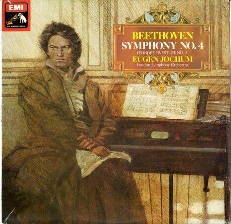 GB  EMI  ASD3627 ヨッフム  ベートーヴェン・交響曲4番