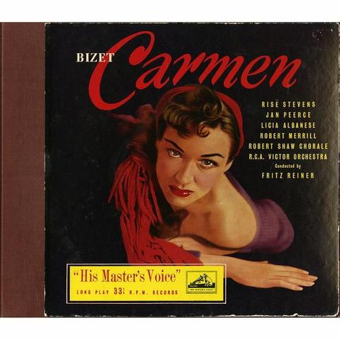 GB EMI ALP1115-7 ライナー ビゼー・カルメン(全曲)