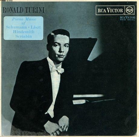 GB RCA SB6630 ロナルド・トゥリーニ ピアノ名曲撰
