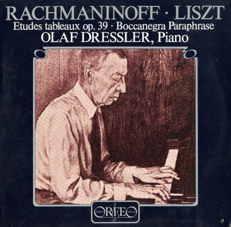 DE ORFEO S010821A オラフ・ドレスラー ラフマニノフ・音の絵