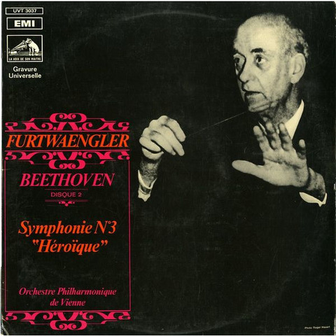 FR  VSM  UVT3037 フルトヴェングラー ベートーヴェン・交響曲3番