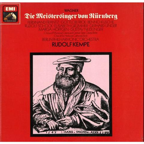 GB EMI  RLS740 ルドルフ・ケンペ ワーグナー・マイスタージンガー