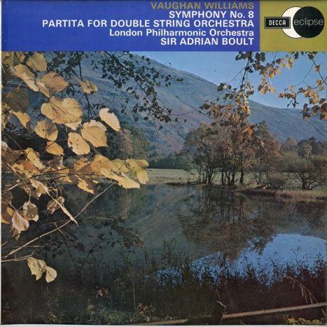 GB DECCA ECS644 エイドリアン・ボールト ウィリアムズ・交響曲8番