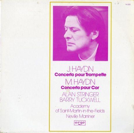 FR argo 14 005 ストリンガー&タックウェル ハイドン・Trピアノ協奏曲/ホルン協奏曲