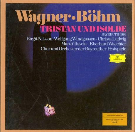 DE DGG  2740 144 カール・ベーム ワーグナー・トリスタンとイゾルデ(全曲)