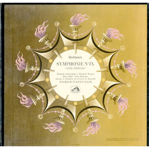FR  VSM  FALP381/2 フルトヴェングラー  ベートーヴェン・交響曲9番「合唱付き」