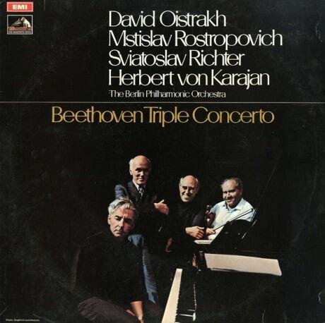 GB EMI ASD2582 ヘルベルト・フォン・カラヤン ベートーヴェン・三重協奏曲