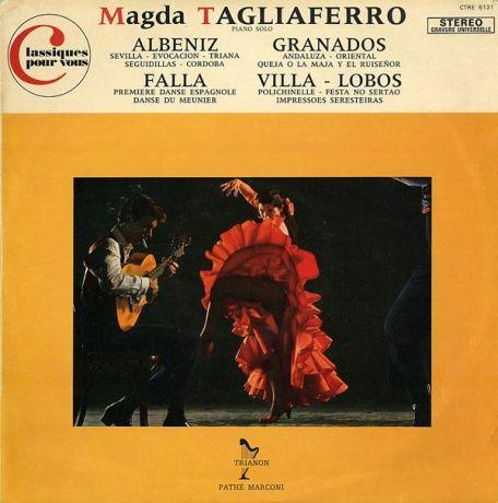 FR TRIANON CTRE 6131 マグダ・タリアフェロ スペイン・ピアノ曲集