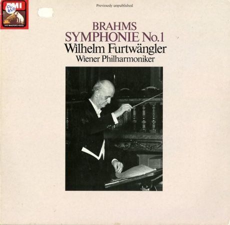 DE EMI ED27 0124 1フルトヴェングラー ブラームス・交響曲1番