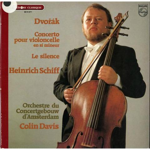 FR PHILIPS  6514 071 ハインリヒ・シフ ドヴォルザーク・チェロ協奏曲